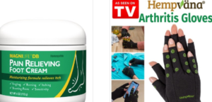 ARTHRITIS, JOINTS AND BACK PAIN RELIEF PRODUCTS